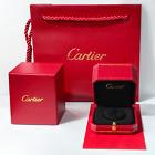 Authentic Cartier Ring Box — fits Love, Juste un Clou, Panthère de Cartier Rings