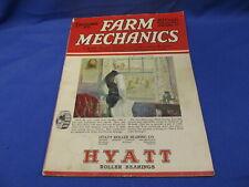 Farm Mechanics December 1925 Farm Machinery Equipment Buildings