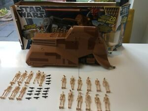 Star Wars MTT Trade Federation Droid Carrier + 20 figures