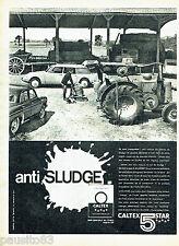 PUBLICITE ADVERTISING 056  1961  Caltex  5 star huile anti sludge DS