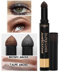 Smokey smoke Eyeliner Eye shadow Powder by Loreal in 4 shades smokissime smudge