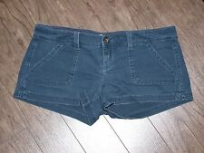 Hollister Stretch Size 0 Womens Navy Jean Shorts