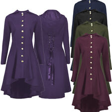Mens Steampunk Tailcoat Jacket Multi Color Gothic Victorian Frock Coat Costume