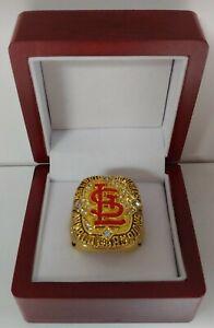 Albert Pujols - 2006 St Louis Cardinals World Series Custom Ring WITH Wooden Box