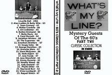 What's My Line Mystery Guest DVD Collection 60's PART 2