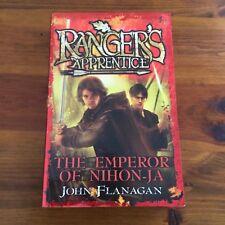 RANGER'S APPRENTICE BOOK TEN - THE EMPEROR OF NIHON-JA - John Flanagan   VGC