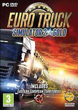 Euro Truck Simulator 2 Oro Nuevo Sellado PC-DVD Incluye Go East Expansión