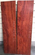 Figured Bubinga Lumber For Guitar Building Jewellery Boxmaking Knife Scales Wood