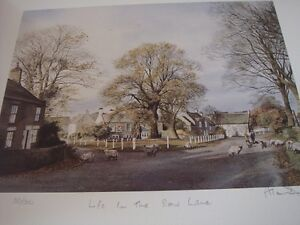 ALAN INGHAM 'LIFE IN THE SLOW LANE' LIMITED EDITION PRINT.  SALE