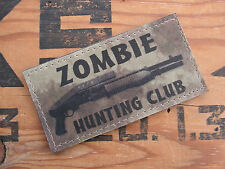Snake Patch - ZOMBIE HUNTING CLUB - ATAC US TWD mort vivant AIRSOFT SPAS 12 M4