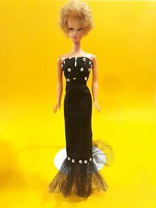"VINTAGE BLONDE ""U"" HEAD BARBIE DOLL CLONE Uneeda with 1966 tnt barbie body"