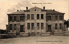 CPA  Buchéres (Aube) -Ecole et Mairie    (350922)