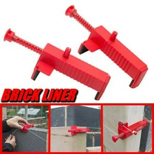 Brick Liner Runner Wire Drawer Bricklaying Fixer for Building Construction  ST