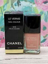 NIB CHANEL LE VERNIS Nail Colour Polish # 515 PECHE NACREE