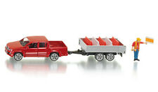 *NEW* SUPER SIKU 3543 VW Amarok Pick Up with Tipping Trailer 1:55 Die-cast Model