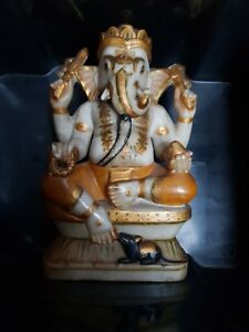 Antique Indian stone Ganesh circa 1900