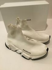 Balenciaga Sock Shoes White Speed Trainer Size 38 Women's