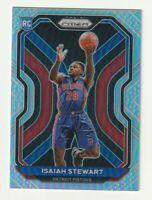 2020-21 Panini Prizm  Basketball Silver Rookie RC Isaiah Stewart Pistons #254