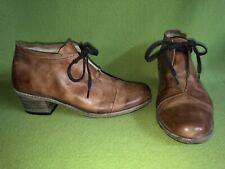 Brown Zeha Berlin Lace-Up Heels 9 40