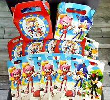 Sonic BOX BIRTHDAY CUP PLATE CUPCAKE balloon party BANNER game supplies TABLE
