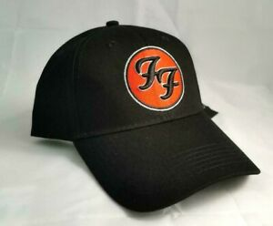 FOO FIGHTERS BB CAP RED LOGO BASEBALL CAP ROCK OFFICIAL MUSIC HAT DAVE GROHL