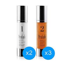 2 Profade1: Crème hydratante + 3 Profade2: Gel régénérateur pour la peau tatouée