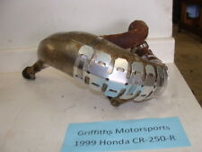 1999 99 HONDA CR250R CR250 FMF Gnarly exhaust pipe w stone guard 97 98 1998 1997