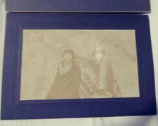 Ozette Makah native American Indian cabinet card antique Photo
