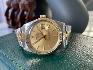 Rolex Datejust 16013 Box and Papers 1978 Vintage