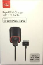 Verizon Apple Certified Rapid 2.1AMP Power Wall/Travel Charger For iPad 2, 3, 4