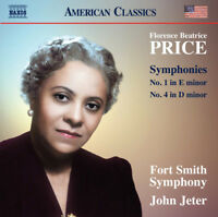 Florence Price : Florence Beatrice Price: Symphonies No. 1 in E Minor/No. 4 in