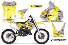 Suzuki RM 125 Graphics Kit AMR Racing Bike Decal RM125 Sticker Part 99-00 TBOMB