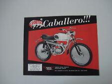 advertising Pubblicità 1970 FANTIC TX-9 CABALLERO