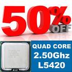 Intel Xeon QUAD CORE L5420 2.50GHz 1333MHz LGA771 SLARP 12MB L2 Cache FREE POST