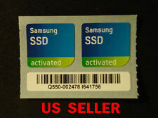 2pcs Samsung SSD activated Sticker For PC  < 20 X 19mm >