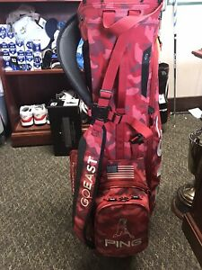 RARE Ping Hoofer AJGA Wyndham Cup Red Camo Bag-1/13 Bags From 2018