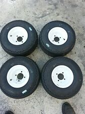 18x8.50-8NHS Carlisle Foam Filled 4 Ply Tire & Wheel, 18-8.5x8, Tyre X 4