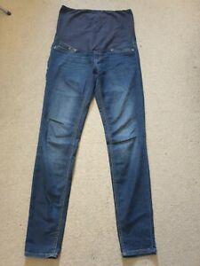 H&M Mama Super Skinny Maternity Jeans Size 10