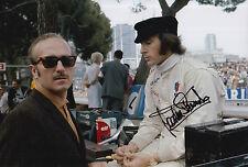 Jackie Stewart Hand Signed Tyrrell F1 12x8 Photo 2.