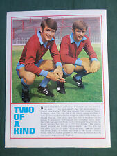 BRUCE & NEIL RIOCH - 1 PAGE PICTURE - CLIPPING /CUTTING