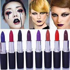 Waterproof Sexy Dark Purple Makeup Matte Velvet Lipstick Long Lasting Lip Gloss