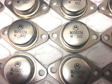 MJ15024 Silicon Power Transistor 16A TO-3 LOT OF 10