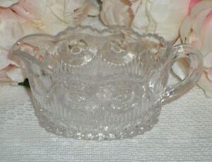 Vintage Glass Milk Jug / Creamer