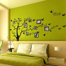 1Pc Black Wall Decal Stickers Removable Photo Frame Tree Family DIY Decorations