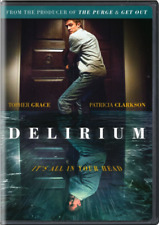 DELIRIUM DVD 2017 WIDESCREEN RARE HORROR SEALED, FREE SHIPPING