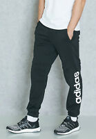 Adidas Men Pants Athletics Essentials Linear Logo Work Out Training BQ9090