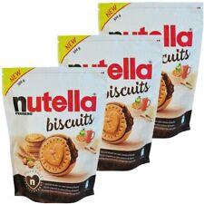 N. 3 NUTELLA BISCUITS da 304gr - BISCOTTI DAL CUORE CREMOSO