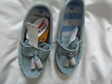 BRAND NEW NEXT LITTLE BOYS SUEDE SLIP ON SHOES SIZE 6