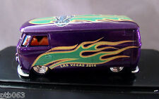 HOTWHEELS/CODE 3-DieCast X SUPER CONVENTION-CUSTOM VW BUS-1/ 10 - REAL RIDERS