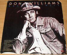 DON WILLIAMS GREATEST HITS ALBUM 1975 ABC DOT DOSD-2035 WHITE LABEL PROMO